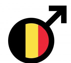 belgian male symbol